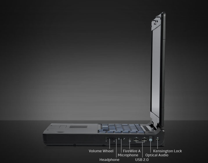 Side View Alienware M17